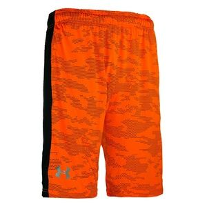 Under Armour Woven Graphic Shorts Orange NWT